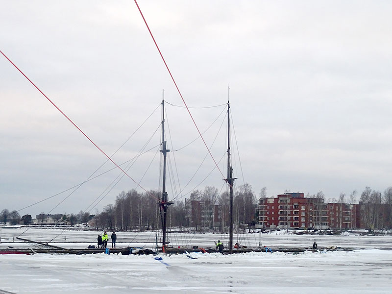 Kopian av Mary Ann sjönk i Finland