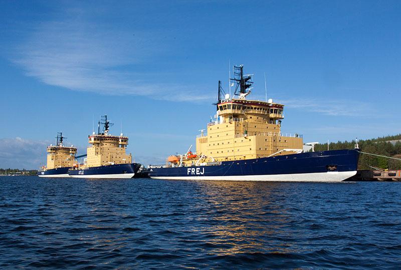 Över 600 assisterade fartyg under årets isbrytarsäsong
