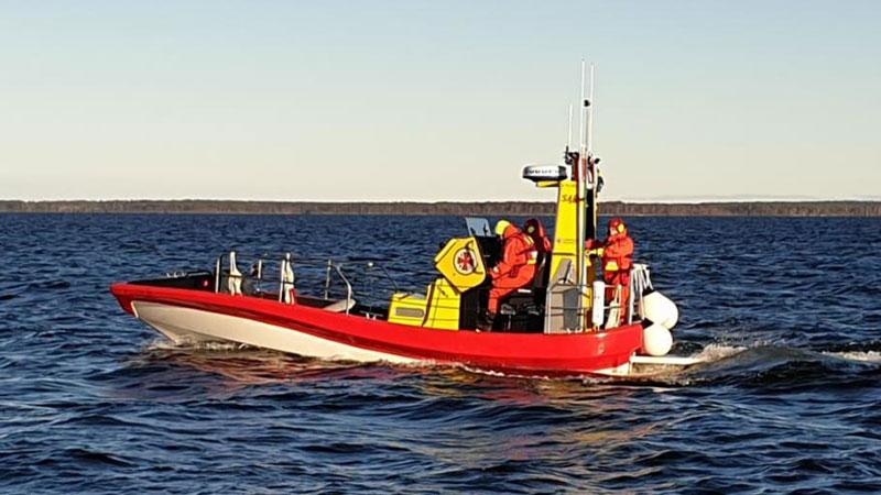 Ny sjöräddningsbåt får namn i Piteå