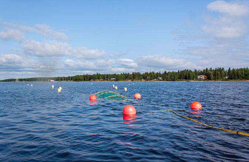 Håll utkik efter fiskredskap som ligger i sjön