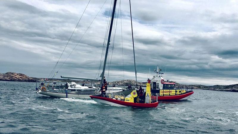 Fortsatt intensivt för landets frivilliga sjöräddare