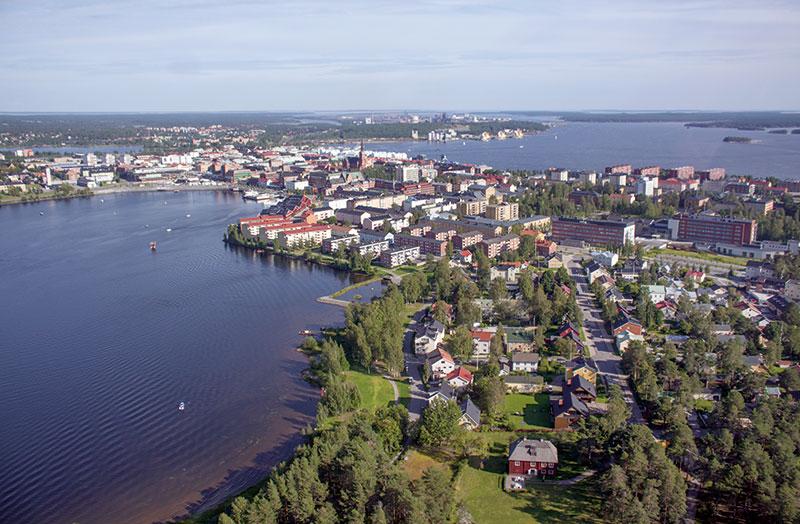Staden vid vattnet