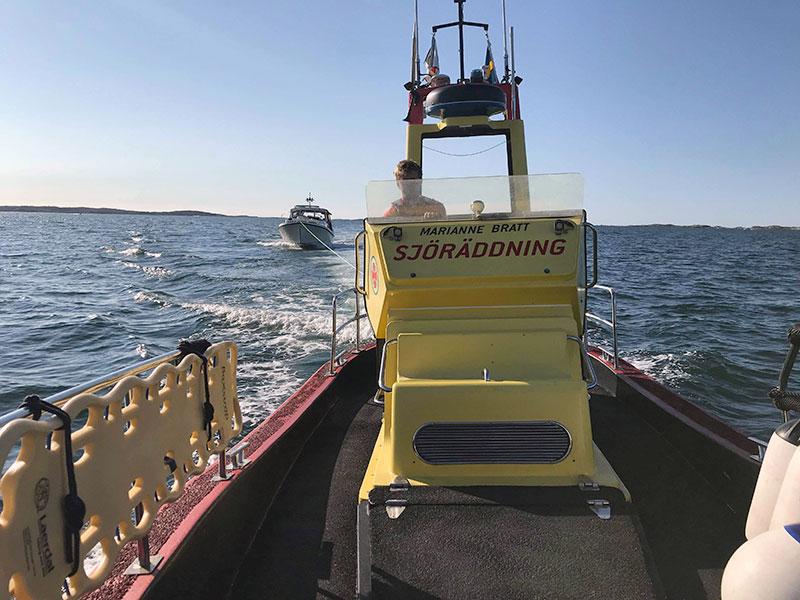Sjöräddningssällskapets uppdrag ökade med 54 procent