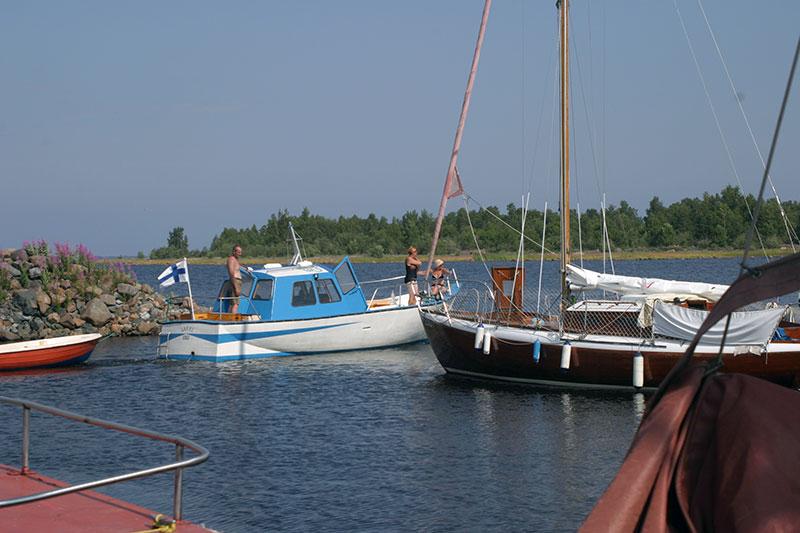 Båtklubbar i norra Finland
