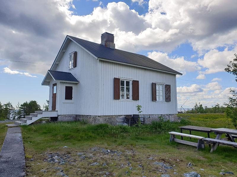 Hyra rum på Hamnskär i Skellefteå skärgård