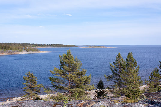Utsiktsplassen på Kråkskär