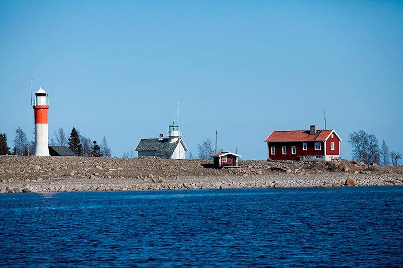 Gåsören, Skellefteå
