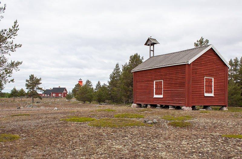 Kapellet på Rödkallen.