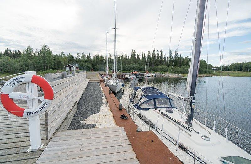 Björkögärdsvikens hamn