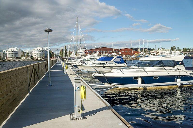 Småbåtshamnar i Luleå
