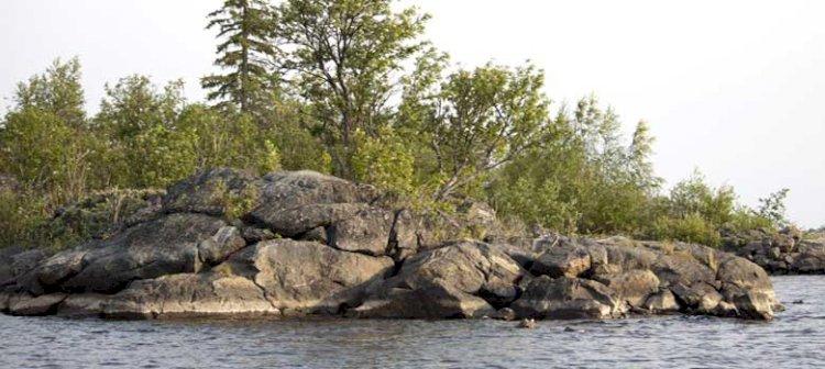 Jävreholmen i Piteå skärgård
