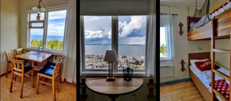 Hyra rum på Bjuröklubbs Fyr i Skellefteå