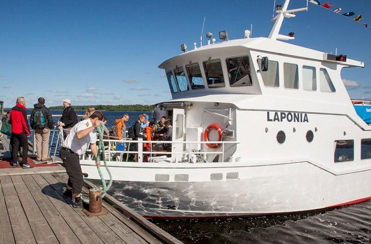 Turlistor, charterbåtar och transporter i Skellefteå skärgård