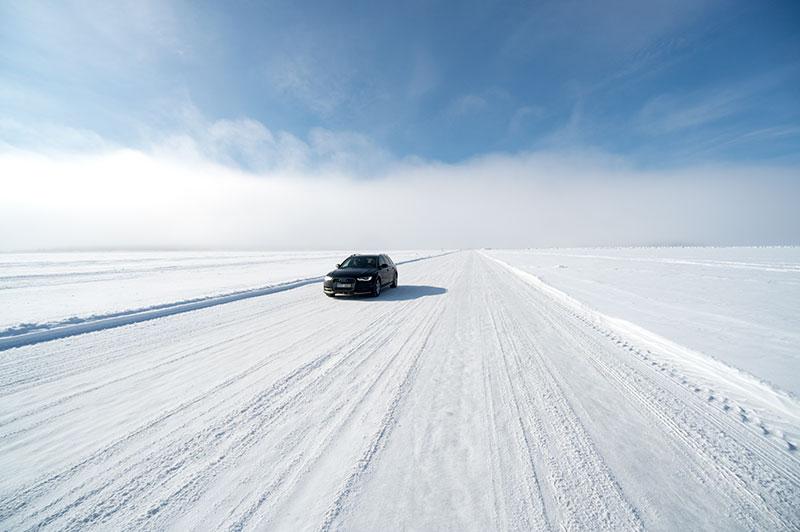 Isvägar i Luleå